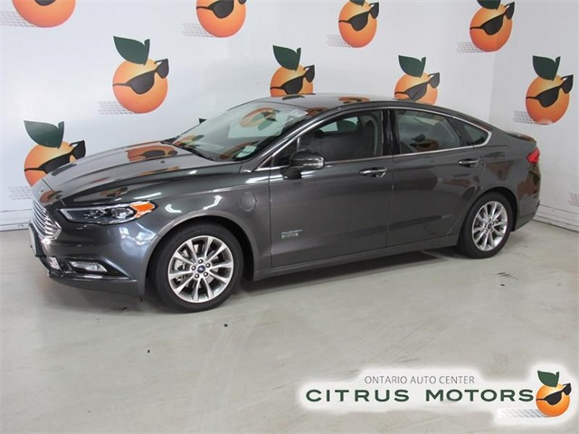 Certified Pre-Owned 2017 Ford Fusion Energi Titanium