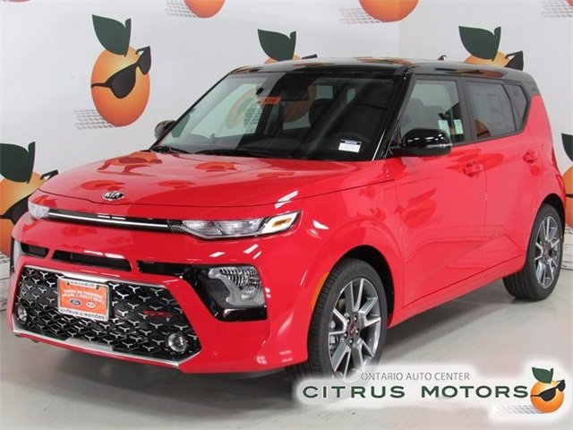 New 2020 Kia Soul Gt Line 4d Hatchback In Ontario 20k055 Citrus